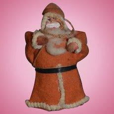 Old Doll Santa Figure Miniature Dollhouse Great Face