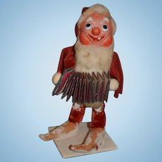 Old Doll French Santa Claus St. Nick Papier Mache Charming!!