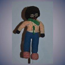 Old Doll Cloth Doll Black Doll Rag Doll Golliwog