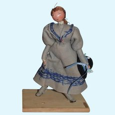 Old French Doll Pierre Balmain Creations De FARFA DET Balmain Boutique Paris France