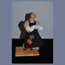 Old Doll French Doorkeeper Pierre Balmain  FARFADET W/ Provenance