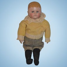 Darling Old Martha Chase Oil Cloth Doll W/ Provenance Adorable