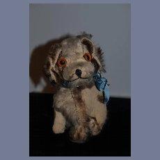 Old Doll Friend Mohair Dog Early Steiff Adorable Stuffed Animal