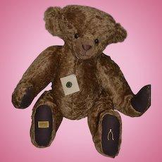 Huge Teddy Bear Merrythought Signed Jacqueline Revitt Wonderful Jointed Great Doll Friend English Bear