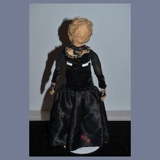 Old Doll Cloth Doll Rag Doll Lady Doll Unusual Wonderful Clothes