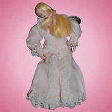 Artist Doll Miniature Dollhouse RISQUE Lady Dainty