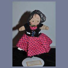 Old Doll Cloth Doll Rag Doll Character Doll Unusual