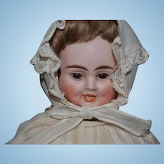 Antique Doll Carl Bergner Three Face Bisque Doll Wonderful Dressed