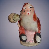Wonderful Doll Old Miniature Papier Mache Santa Claus Paper Mache