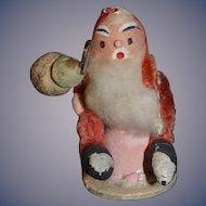 Wonderful Doll Old Miniature Papier Mache Santa Claus Paper Mache