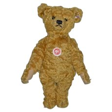 Vintage Teddy Bear Steiff W/ Button Tag and Chest Tag Sweet!