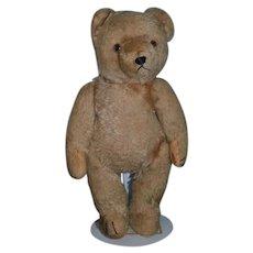Old Teddy Bear Jointed Mohair Straw Stuffed Hermann Bears