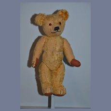 Wonderful Old Merrythought Teddy Bear English Bear Jointed W/ Old Tag
