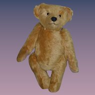 Vintage Teddy Bear Jointed Artist Bear Pat Ryder Cabinet Size Mohair