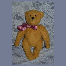 Old Teddy Bear w/ Growler Jointed Sweet Face