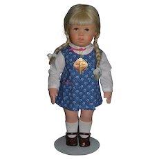 Vintage Kathe Kruse Doll W/ Original Tag
