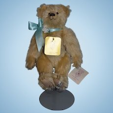 Teddy Bear Artist Bear FREDDIE 1989 Sue Foskay Limited Edition Jointed Mohair W/ Tags Signed