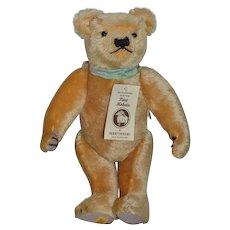 Wonderful Teddy Bear Mohair Merrythought English Bear W/ Tag Jointed