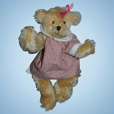 Artist Teddy Bear Adorable Kathi Clarke Originals W/ Tags Jointed and Dressed