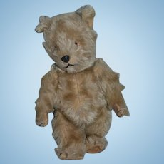 Old English Teddy Bear Chiltern Toys Lord & Taylor Department Mohair Jointed Doll Friend W/ Old Tags