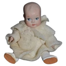Wonderful Doll Dollhouse Miniature Artist Doll Phyllis Wright W/ Tag