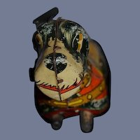 Old Dog Wee Scottie Tin Wind Up Marx Miniature Doll Toy