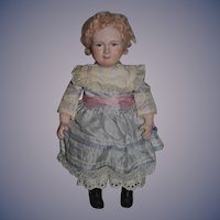 Wonderful Doll Artist Doll Sylvia Bryant Character All Bisque Wonderful Face