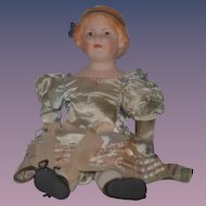 Old Doll English Bisque Coquette 1915 Adorable
