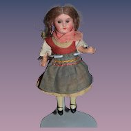 Antique Doll Miniature Bisque Factory Clothing