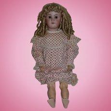 Antique Doll Bisque Heinrich Handwerck Simon & Halbig Doll Large