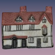 Old Miniature Dollhouse Shakespeare's House China