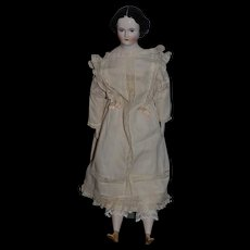 Wonderful Doll Emma Clear with the Humpty Dumpty  Body Old Dress and Corset Wonderful Bun