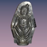 Antique Doll Anton Reiche Dresden Tin Chocolate Mold Jester Clown LARGE