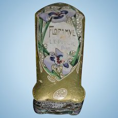 Antique Doll Miniature French Box Vanity Item L.T. Piver  Floramye Perfume Box Paris