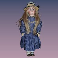 Antique Doll French Bisque BeBe  Gesland Body Signed