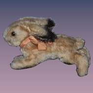 Old Rabbit Mohair Steiff? Running Bunny Rabbit Adorable