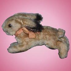 Old Rabbit Mohair Steiff? Running Bunny Rabbit Adorable