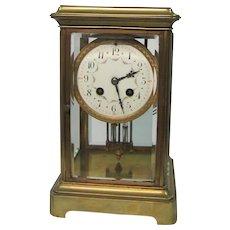 Glass Enclosed Clock