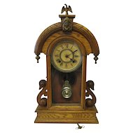 Vintage early 1900's Ansonia Gingerbread clock