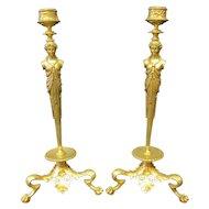 Bronze Candlesticks