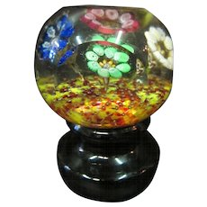 Multi Floral Paperweight