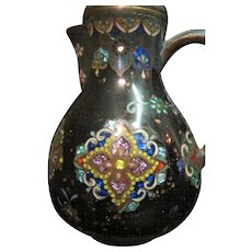 Vintage Chinese Cloisonné Tea Pot