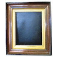 Vintage Walnut Picture Frame