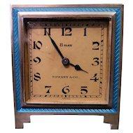 Vintage Tiffany & Co. Art Deco Desk/Travel Clock