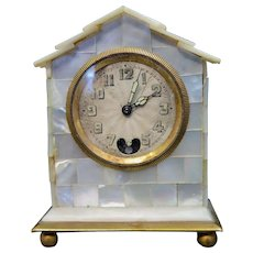 Vintage Early 20th Century Miniature Clock