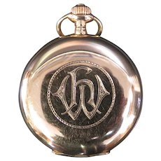German 14K Gold Pocket Watch