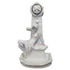 Vintage Emmanuel Villains Porcelain Clock