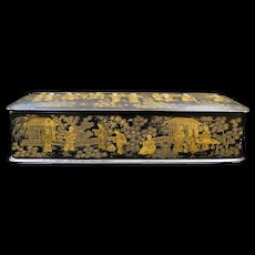 """Chinese """"Inspired"""" Lacquer Box"""