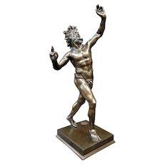 """""""Grand Tour"""" Bronze Faun"""