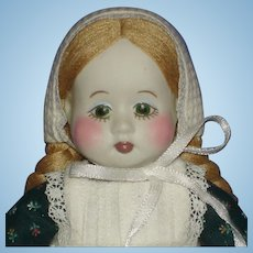 Very Early Gail Duggan Wilson Porcelain Doll 1981